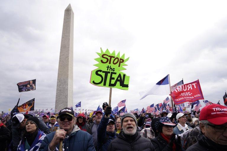 """116391121 43617753 1956 4720 bcce b04396b4c33d - Asalto al Capitolio: Las palabras que le costaron a Trump el segundo """"impeachment"""""""