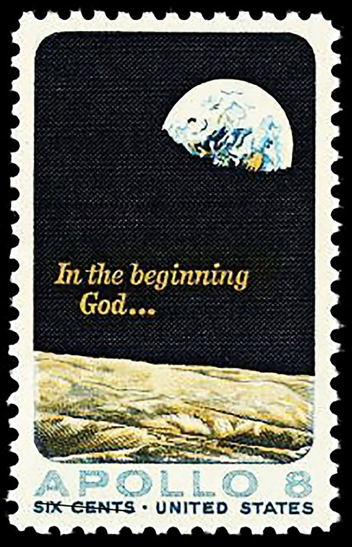 Seal with the image of Earthrise