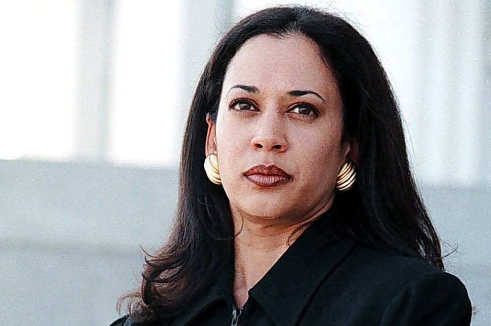 Alameda County deputy district attorney Kamala Harris at the Alameda County Superior Court in Oakland, California on 28 March 1997.