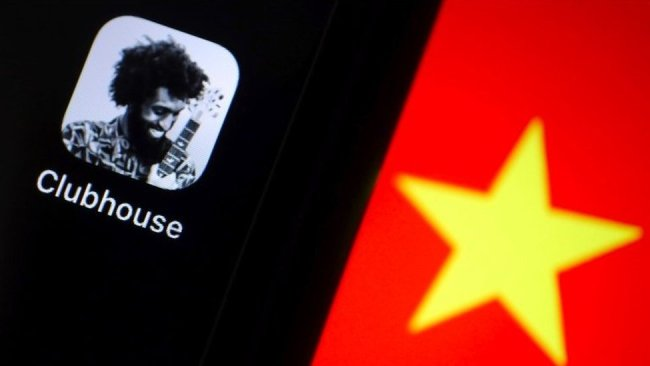 Clubhouse, participated in applications banned in China.
