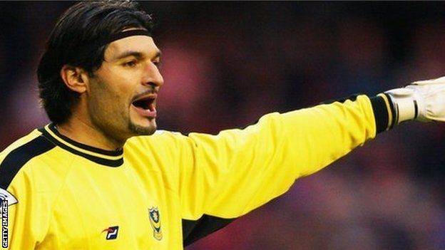 Former Newcastle United keeper Pavel Srnicek