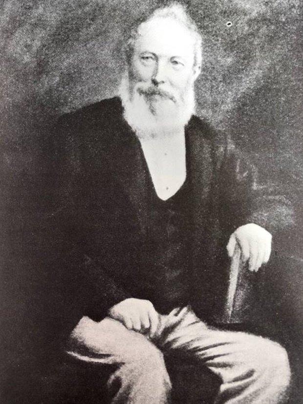 A portrait of William Debenham