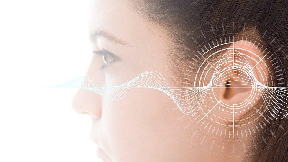 Ilustración de problemas de oído