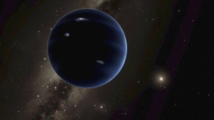 """Recreación del """"Planeta Nueve""""."""