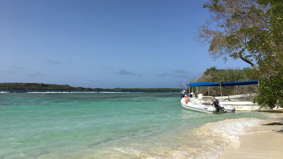 El Parque Nacional Morrocoy esconde playas paradisíacas. Venezuela mantiene sus tesoros ocultos.