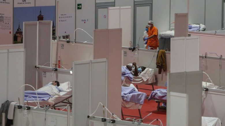 Hospital temporal en Madrid