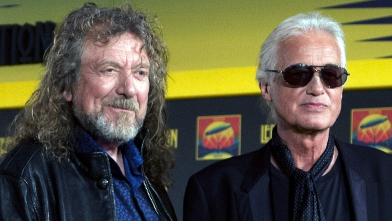 Robert Plant y Jimmy Page