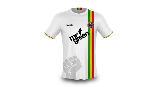 El nuevo diseño de la camiseta de Bohemians