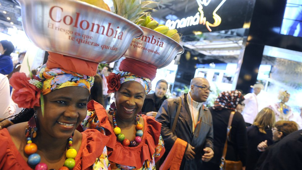 Dos mujeres colombianas