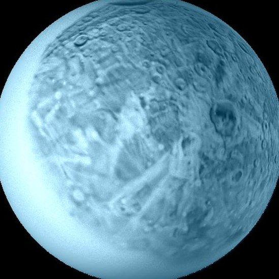 Oberón, luna de Urano
