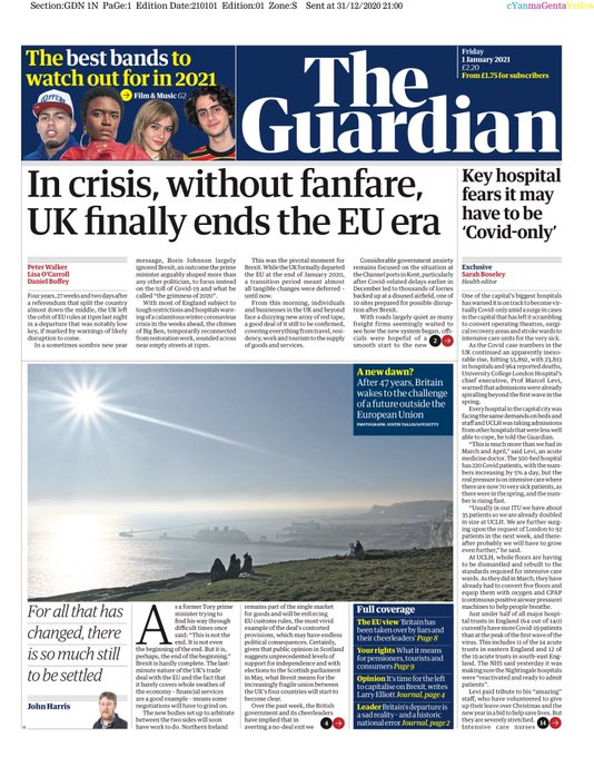 The Guardian 1 January