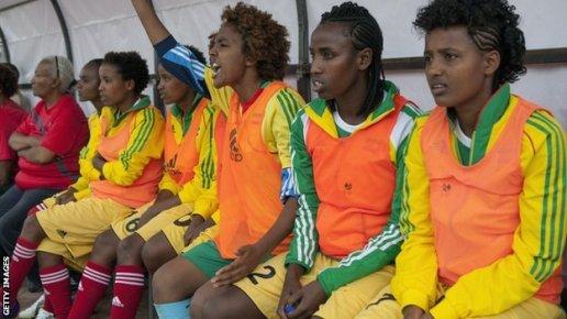 Egypt's women's team