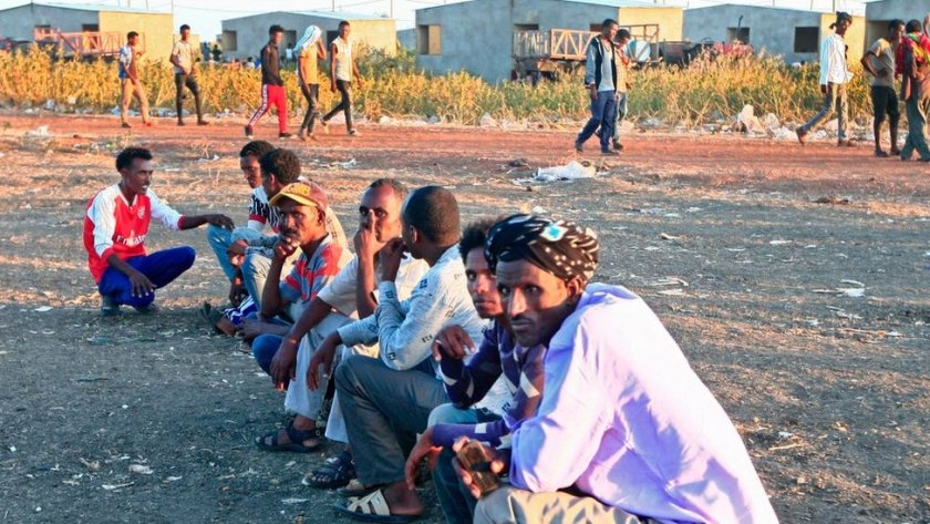 Thousands of people living in Tigray have been forced to seek safety in neighbouring Sudan in recent days