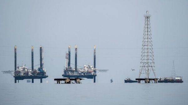 Pozos petroleros en Venezuela.