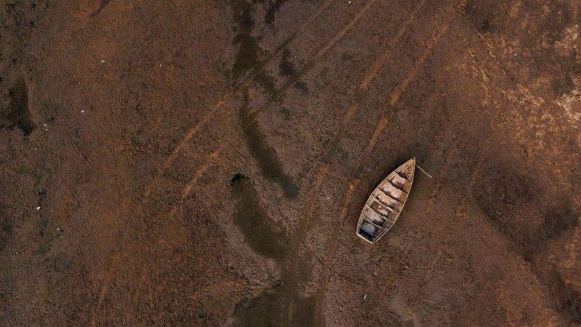 120409724 gettyimages 1234968372 - Las impactantes imágenes de la mayor sequía en 77 años del río Paraná, el segundo más largo de Sudamérica