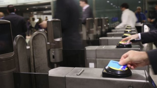 Oyster cards