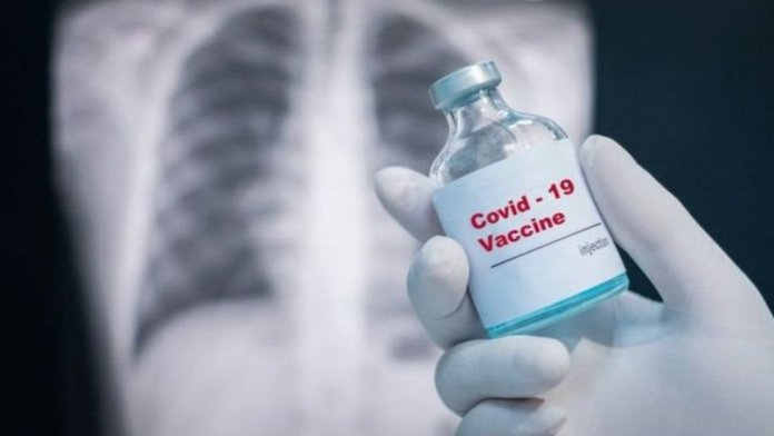 A possible vaccine and radiation to a patient's lung