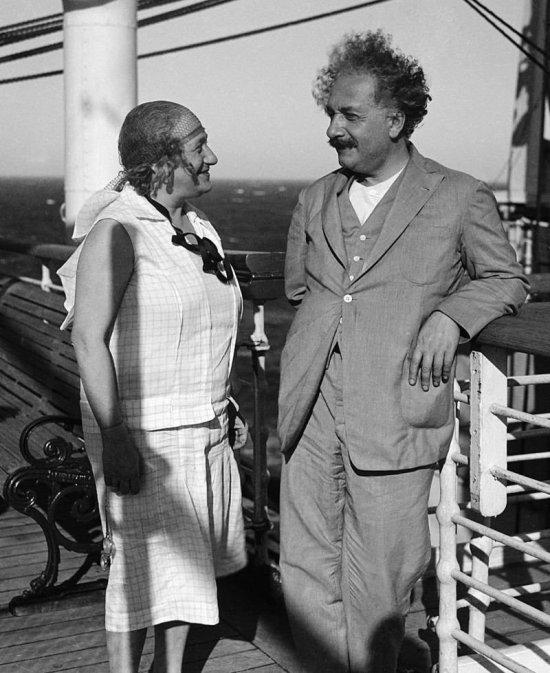 Elsa ve Albert Einstein