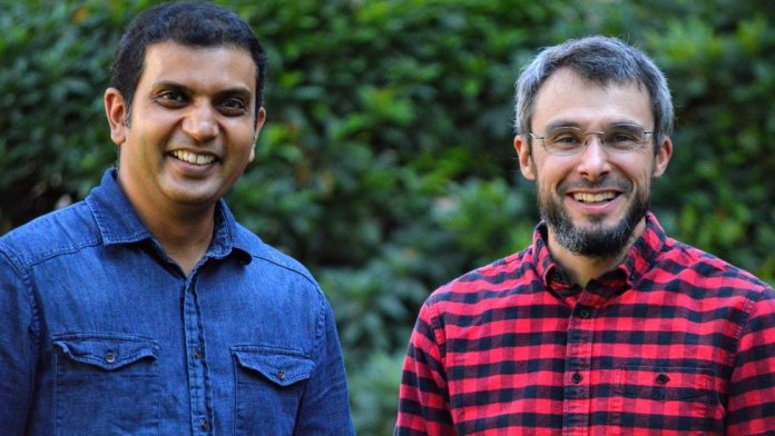 Vinay Shet and Rom Clement Founders of Teleo