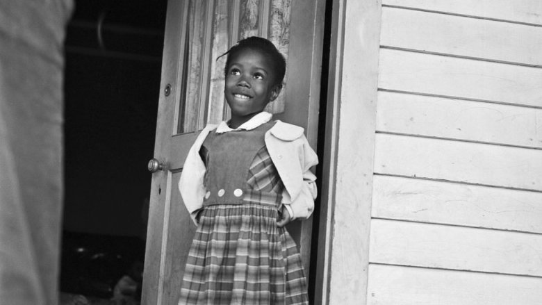 Ruby Nell Bridges at age 6