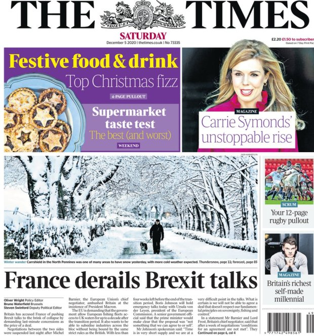The Times 5 December