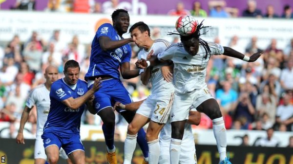 BBC Sport - Swansea City 0-0 Everton