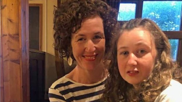 Nora Quoirin with her mum Meabh