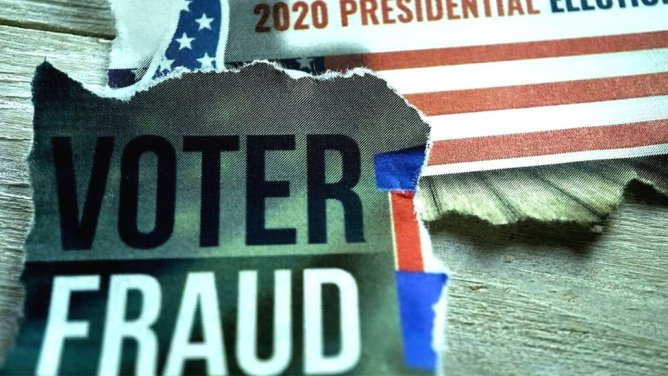 US election 2020: 'Rigged' votes, body doubles and other false claims - BBC News