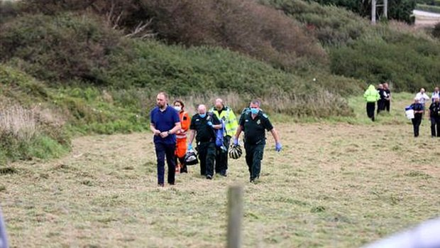 The scene of the incident in Newquay