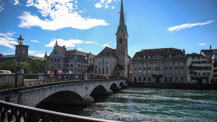 A view of Zurich