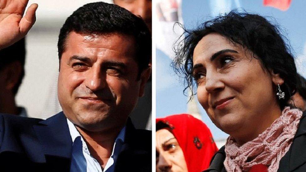Demirtaş ve Yüksekdağ ile birlikte 9 HDP milletvekili de gözaltına alınmıştı