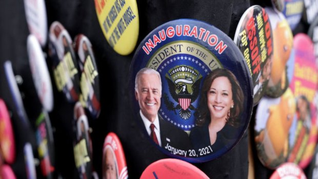 Inauguration 2021 button
