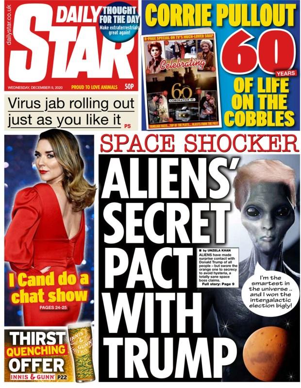 Daily Star Wednesday 9 December
