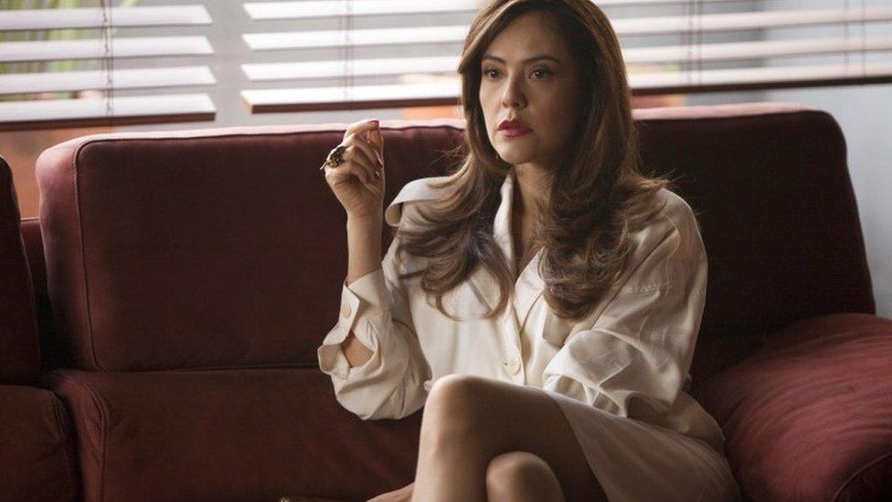Cristina Umana como Judy Moncada en Narcos