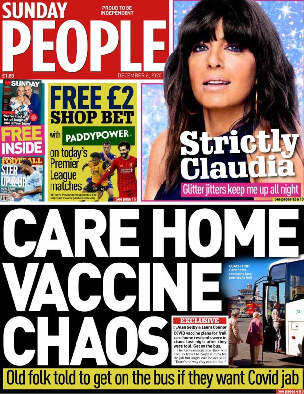The Sunday People 6 December