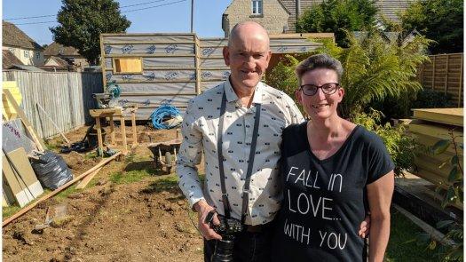 Anna Smart and her husband Robin
