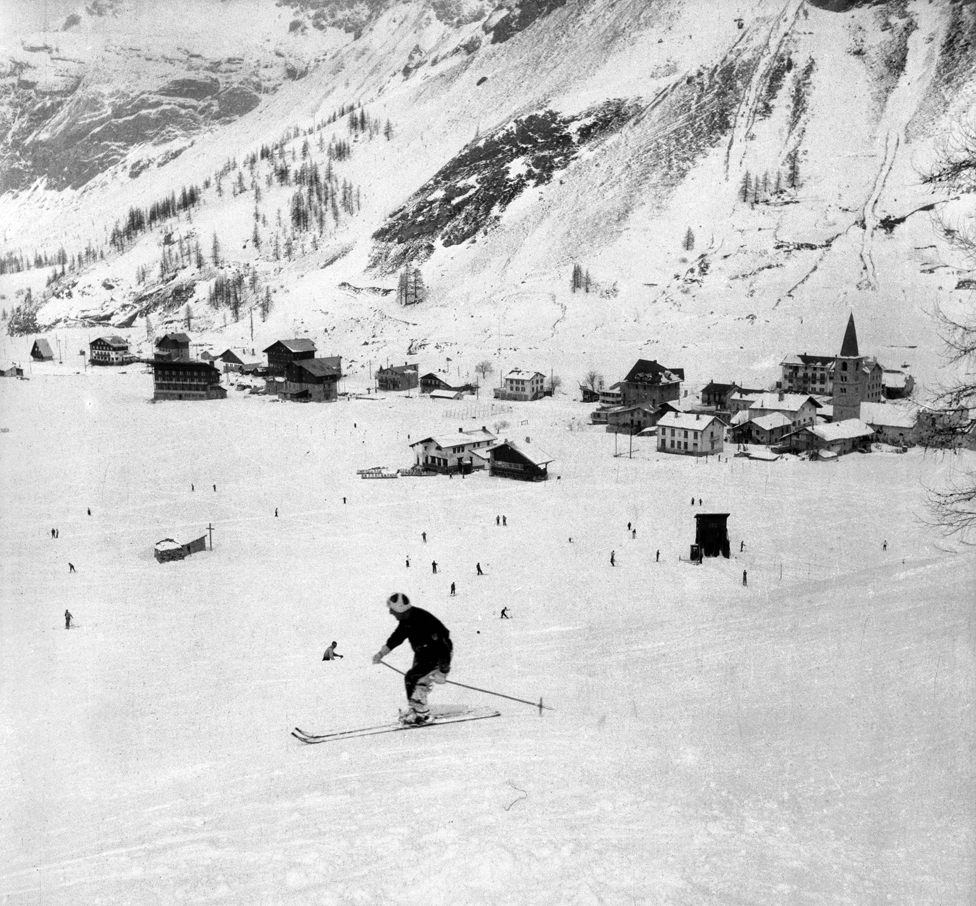 Val d'Isère in 1938