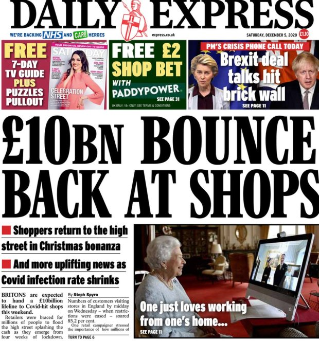 The Daily Express 5 December