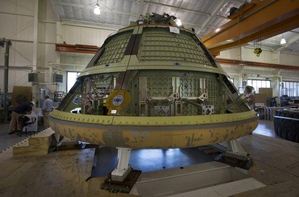 Un módulo espacial