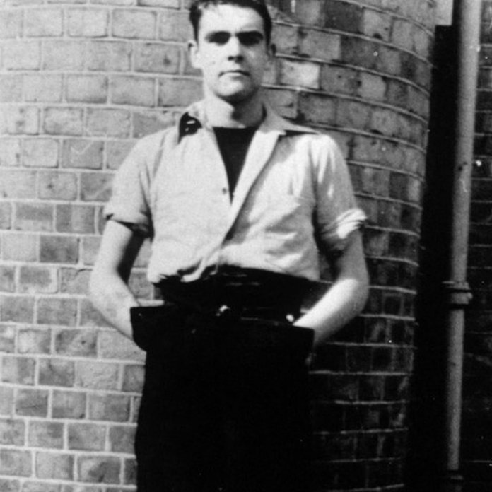 Sean Connery as a young man