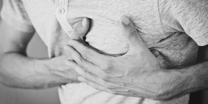 Eight times higher risk of stroke and heart attack