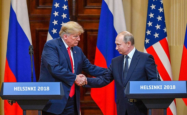 Image result for Trump invites Putin to Washington