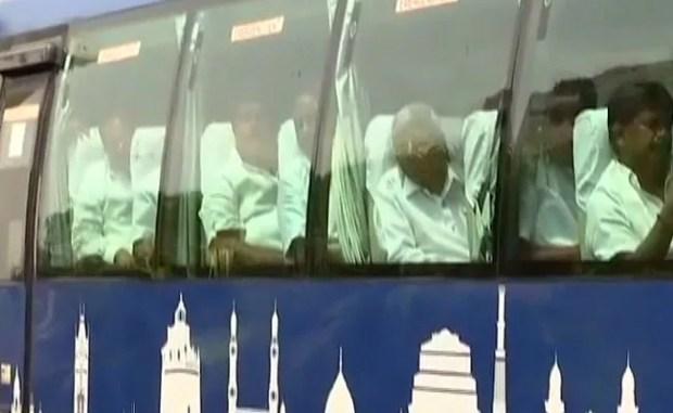 Karnataka LIVE Updates: Congress-JDS Flock Being Taken To Hyderabad By Bus, Top Court Hearing On BS Yeddyurappa