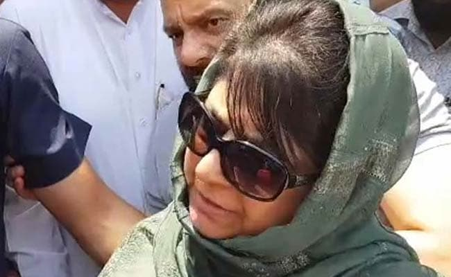Mehbooba Mufti Hands In Her Resignation After BJP-PDP Coalition Splits, Say Sources: Live