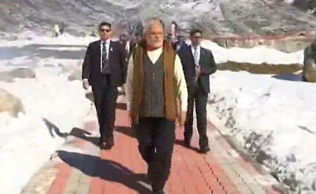 PM Modi Celebrates Diwali With Soldiers, Visits Kedarnath Temple: Live Updates