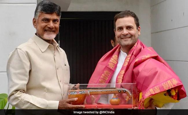 Lok Sabha Election 2019 Live Updates: Rahul Gandhi Meets Chandrababu Naidu