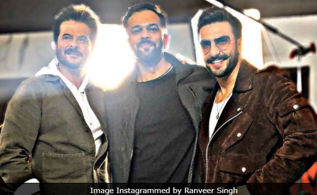 This Pic Of Ranveer Singh With 'Mighty Masala Men' Anil Kapoor And Rohit Shetty Is Pure Gold