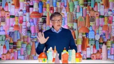 لعب القط ، Play-Doh والرسوم البيانية الفطيرة. بيل جيتس & # 039؛ فيديو عن تغير المناخ 2