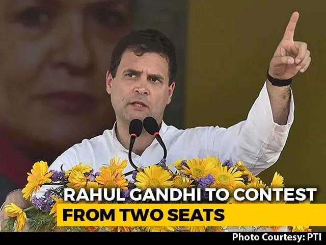 rahul gandhi from wayanad 2019
