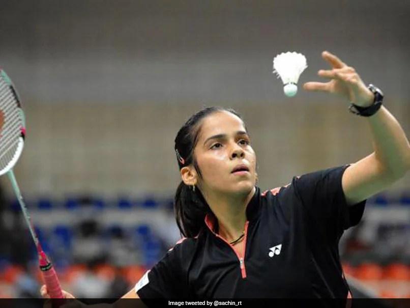 Sachin Tendulkar Wishes Saina Nehwal On Birthday, Hopes For Shuttler